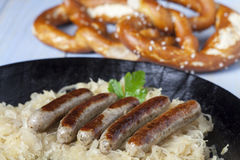 Bratwurst Royalty Free Stock Image