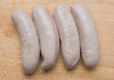 Bratwurst sausages Stock Photography