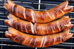 Bratwurst Sausages Royalty Free Stock Image