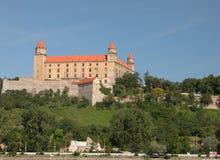 bratysława zamku zdjęcia royalty free