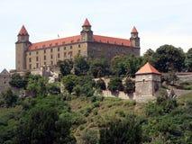 bratysława zamku Obraz Royalty Free