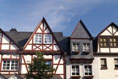 Braubach at the Rhine Stock Photo