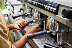 Brauenkaffee Stockfotos