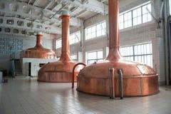 Brauenproduktion lizenzfreies stockfoto