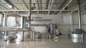 Brauenproduktion - Breibottiche stock footage