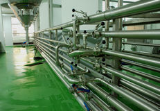 Brauereiausrüstung Lizenzfreies Stockfoto
