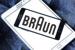 Braun logo Stock Image