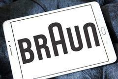 Braun logo Royalty Free Stock Photography