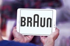 Braun logo Stock Photography