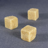 Braun sugar - cube Stock Image