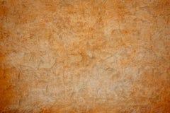 Braune Betonmauer des Schmutzes Stockbild