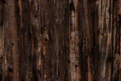 Braune hölzerne Beschaffenheit des Schmutzes alte Panels des Hintergrundes Stockfoto