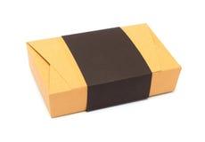 Braune Pappschachtel des Pakets Lizenzfreies Stockfoto
