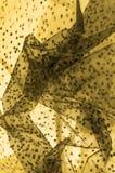 braune Spitze auf dem weißen Hintergrund, der die Neuheit von Spitze m vorstellt lizenzfreie stockbilder