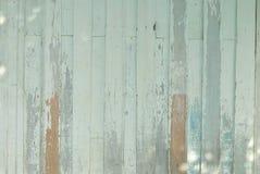 Braune und grüne Hintergrundweinlese der hölzernen Planke Stockfotos