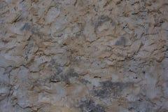 Braune Wand des Lehms des alten Hauses Lizenzfreie Stockfotografie