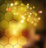 Brauner abstrakter Hintergrund des Vektors für Geschäft Stockbilder