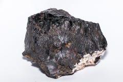 Brauner Glaskopf Black gemstone gem jewel mineral precious stone Stock Photo