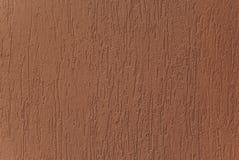 (Brauner) rauer Mantel des Ziegelsteines Stockfoto