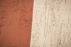 Brauner und beige Hintergrund des strukturierten Gipses Lizenzfreie Stockfotografie