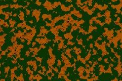 Brauner und grüner Hintergrund der Tarnung Stockbild