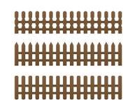 brauner Zaun 3 Lizenzfreie Stockbilder