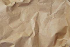 Braunes Packpapier Stockbild