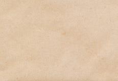 Braunes Papier des Umschlags Stockbild