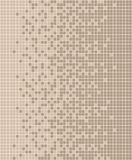 Braunes Pastellmosaik Lizenzfreie Stockbilder
