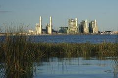 brauning的lakeview发电站 免版税图库摄影