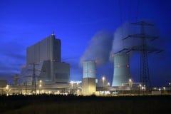 Braunkohlekraftwerk Stock Image