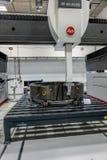 Braunschweig, Lagere Saxona, Duitsland, 8 Augustus , 2018: Driedimensionele scanner met hoge nauwkeurigheid voor nauwkeurige meti stock fotografie