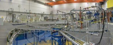 Braunschweig, Niski Saxona, Niemcy, Sierpień 8 , 2018: Pomiarowa sala PTB cząsteczki akcelerator zdjęcie stock