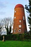 braunston被转换的daventry最近的风车 库存照片