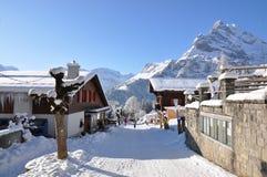 braunwald Ελβετία Στοκ φωτογραφία με δικαίωμα ελεύθερης χρήσης