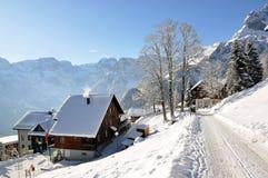 braunwald Ελβετία Στοκ Φωτογραφία