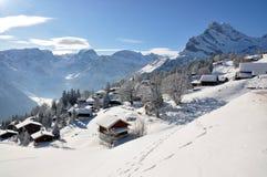 braunwald θέρετρο κάνοντας σκι Ε&l Στοκ Φωτογραφίες