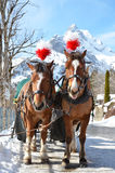 Braunwald, famous Swiss skiing resort Stock Photography