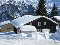 Braunwald, famous Swiss skiing resort Stock Images