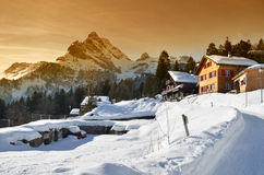Braunwald, Suisse image libre de droits