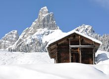 Braunwald, Svizzera Fotografia Stock Libera da Diritti