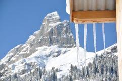 Braunwald, Zwitserland Royalty-vrije Stock Afbeelding