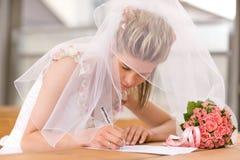 Braut Stockfotografie
