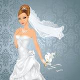 Braut. Stockbild