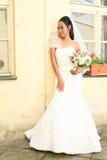 Braut auf Hochzeit Lizenzfreies Stockfoto