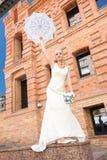 Braut auf Natur Lizenzfreie Stockbilder