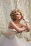 Braut auf Schwingen Lizenzfreie Stockbilder