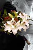 Braut-Blumenstrauß Stockbilder