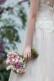 Braut-Blumenstrauß Stockfotografie