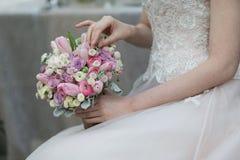 Braut-Blumenstrauß Lizenzfreie Stockfotos
